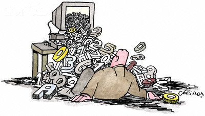 Information Overload --- Image by © Images.com/Corbis